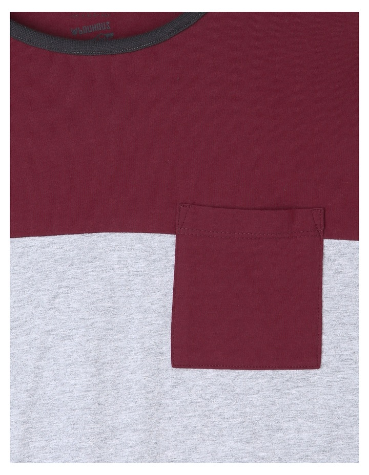 Spliced Long Sleeve T-Shirt image 3