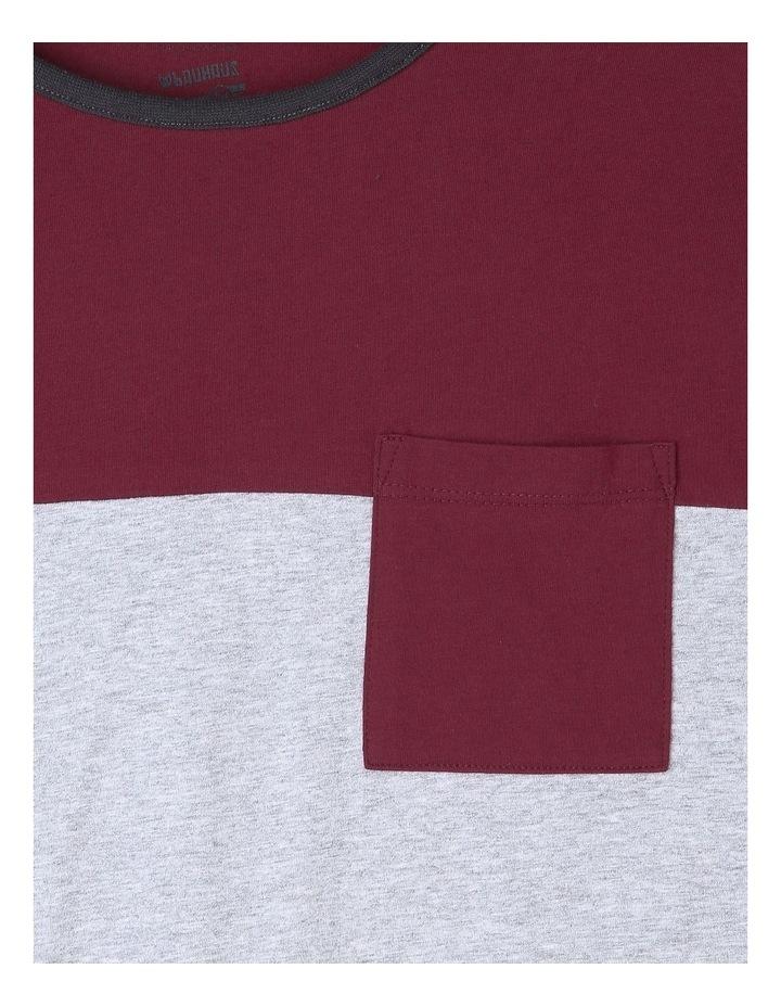 Spliced Long Sleeve T-Shirt image 4