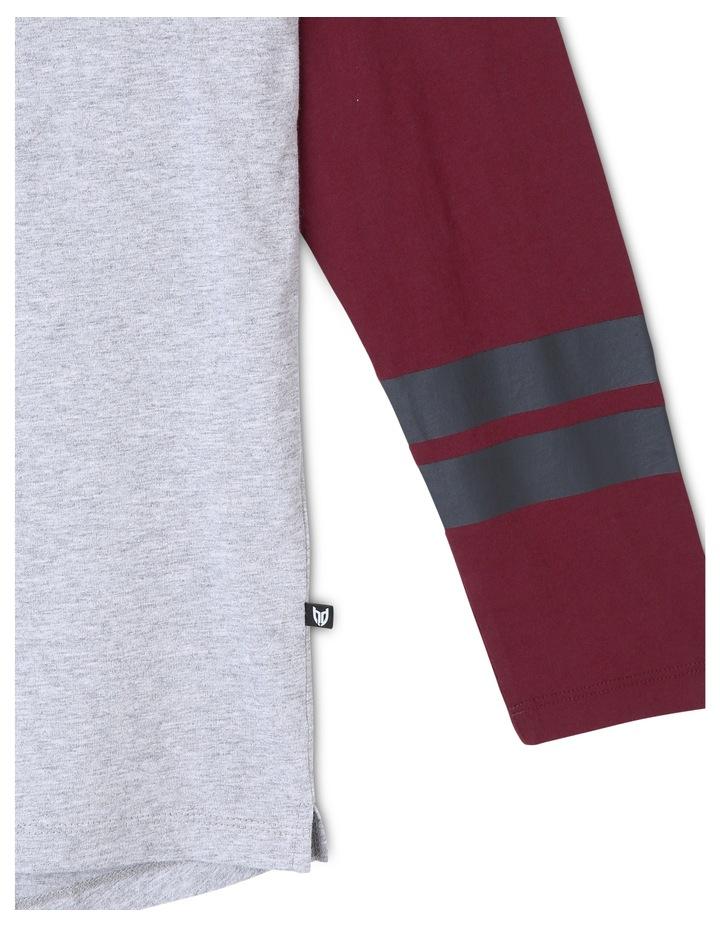 Spliced Long Sleeve T-Shirt image 5