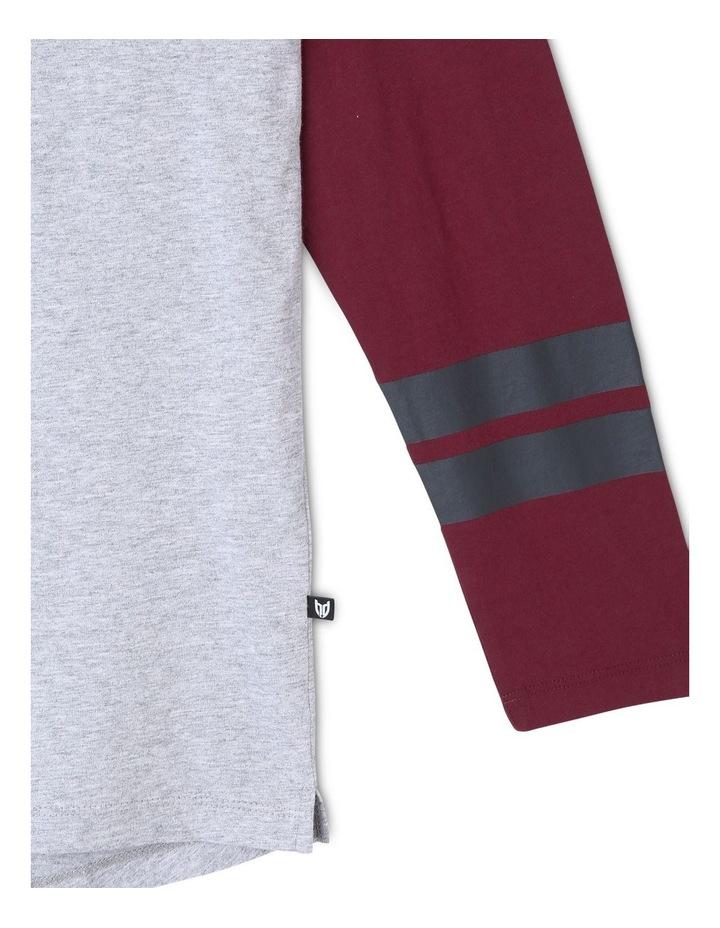 Spliced Long Sleeve T-Shirt image 6