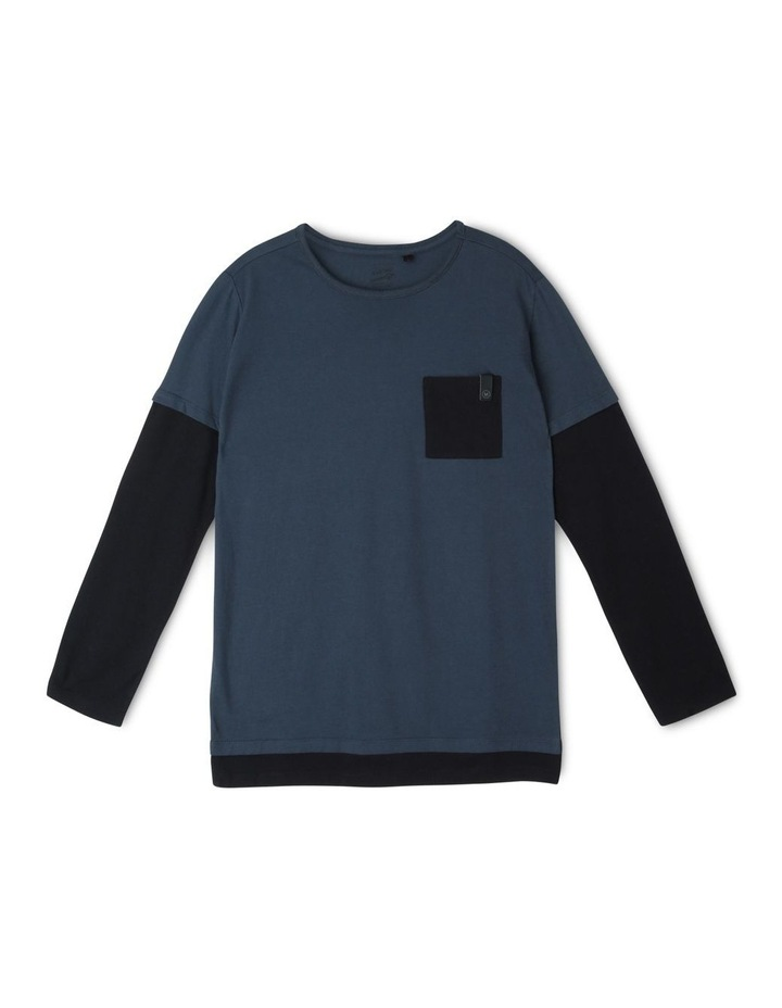 Contrast Long Sleeve T-Shirt image 2