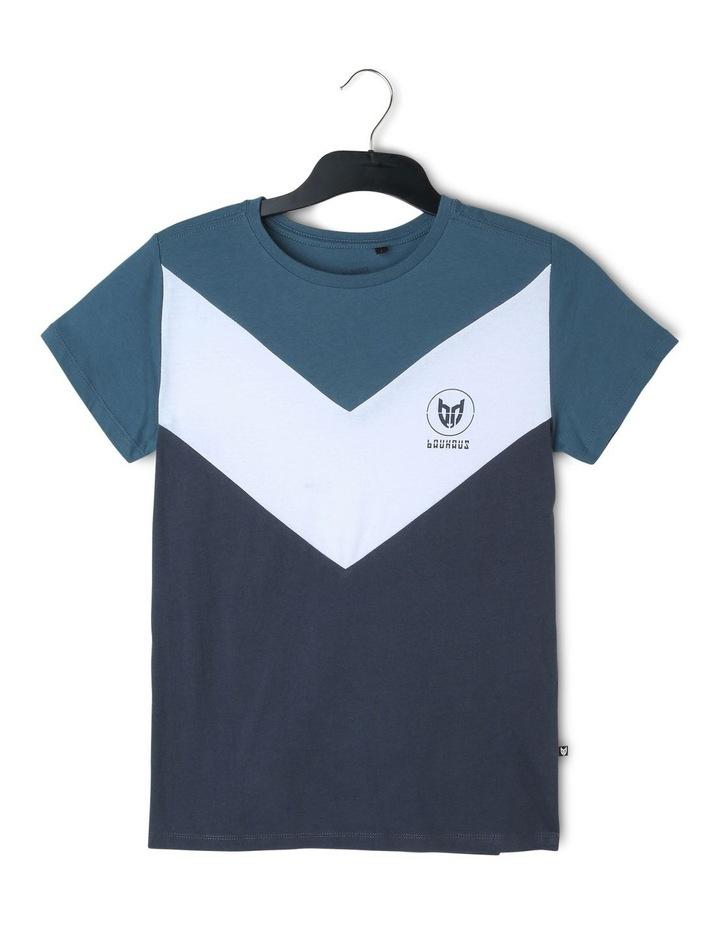 Spliced Chevron T-Shirt image 1
