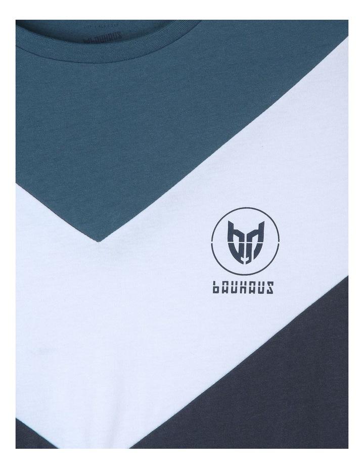 Spliced Chevron T-Shirt image 2