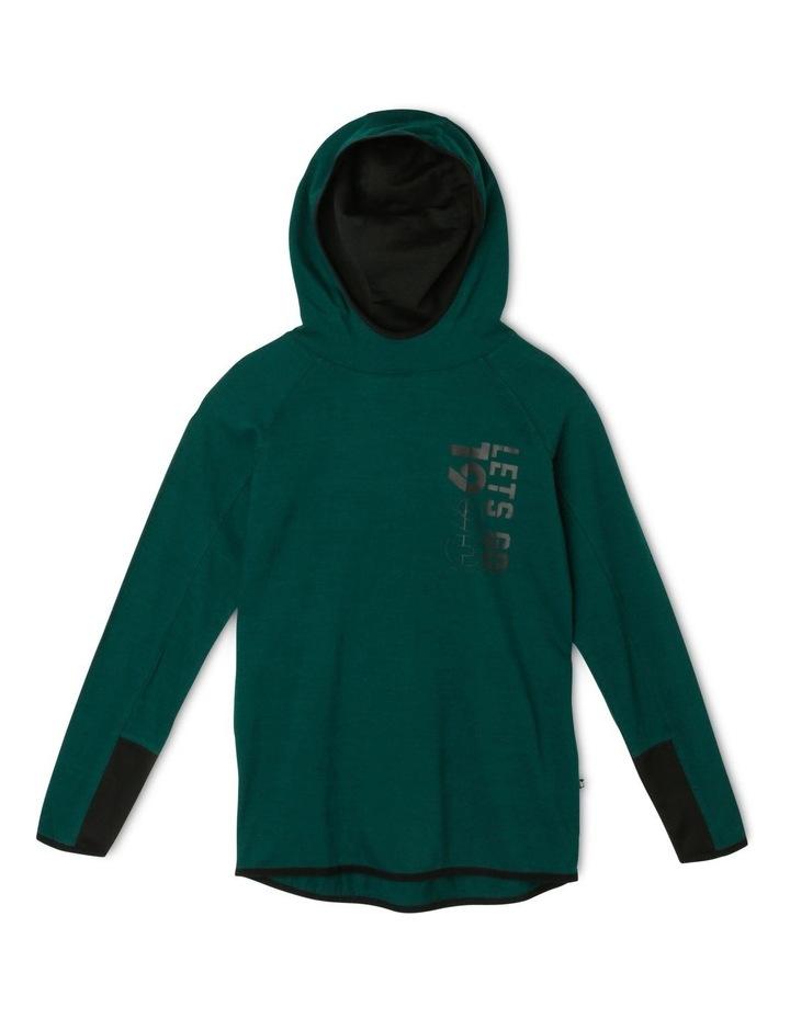 Hooded Long Sleeve T-Shirt image 1