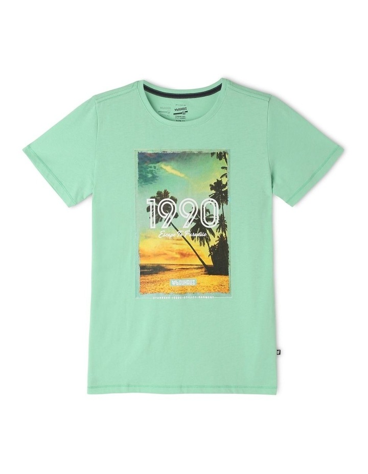 1990 Beach Printed T-Shirt image 1