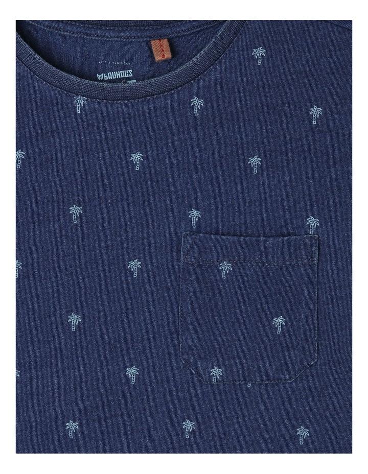 Palm Tree Printed T-Shirt image 2