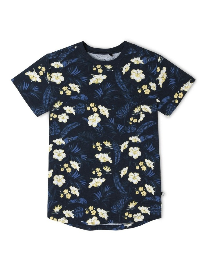 Tropical Print T-Shirt image 1
