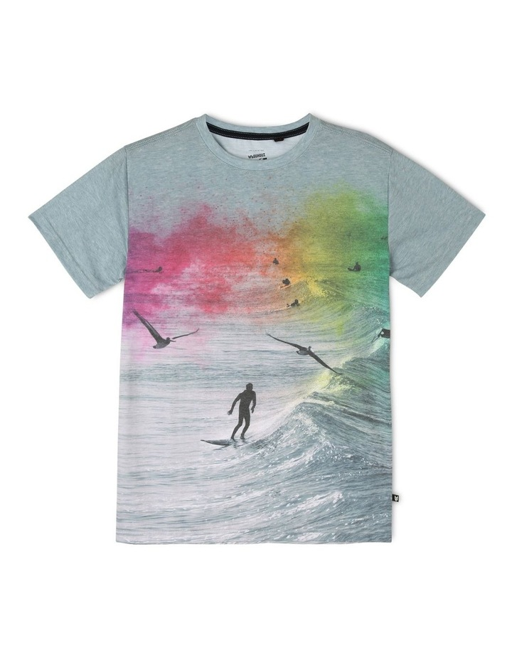 Colourful Surfer T-Shirt image 1