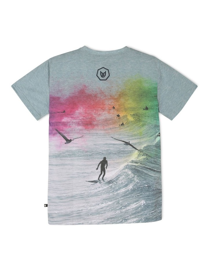 Colourful Surfer T-Shirt image 2