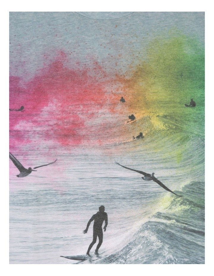 Colourful Surfer T-Shirt image 3
