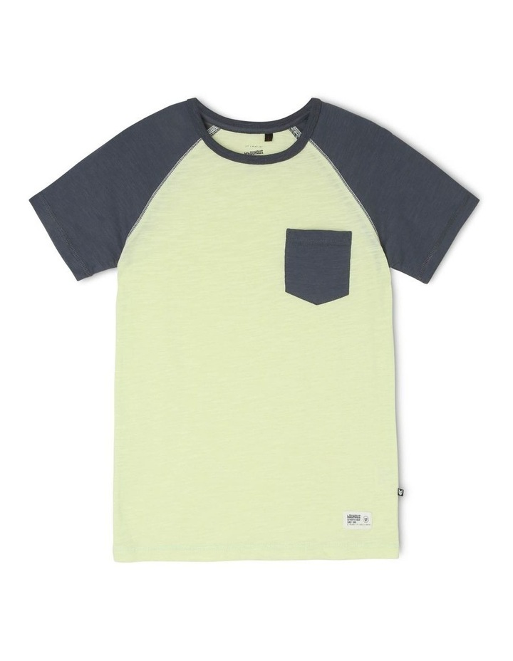 Contrast Sleeve T-Shirt image 1