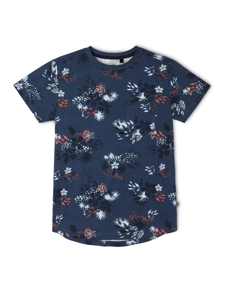 Tropical Print T-Shirt image 1