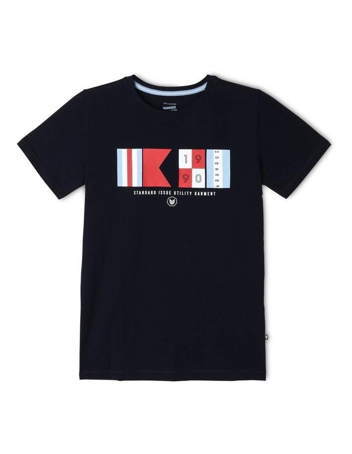 Nautical Flags Essential T-Shirt image 1