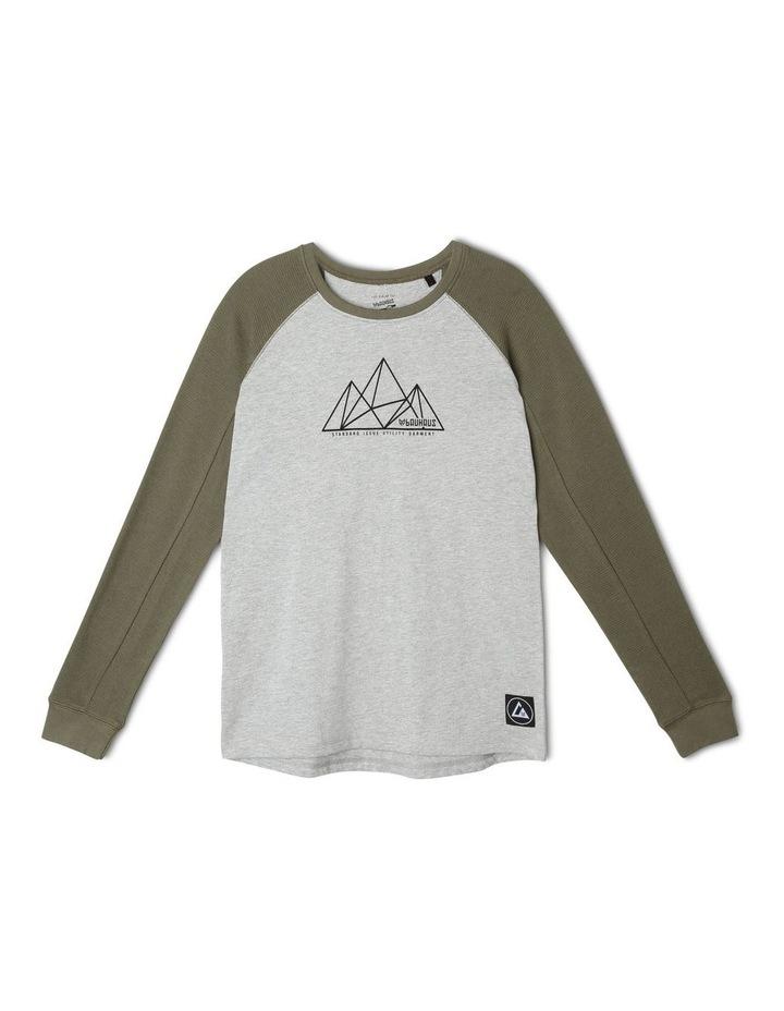 Waffle Long-Sleeve T-Shirt image 1