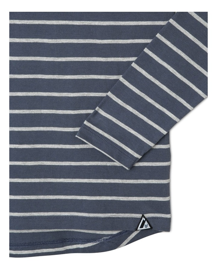 Long-Sleeve Stripe T-Shirt image 2