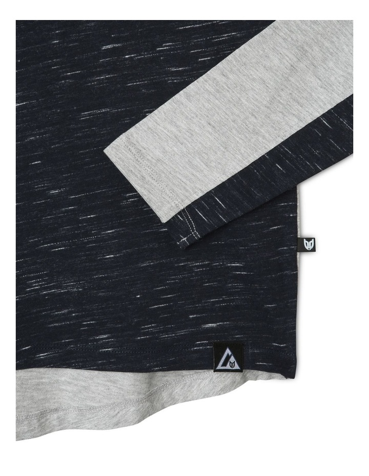 Long-Sleeve Panel T-Shirt image 3