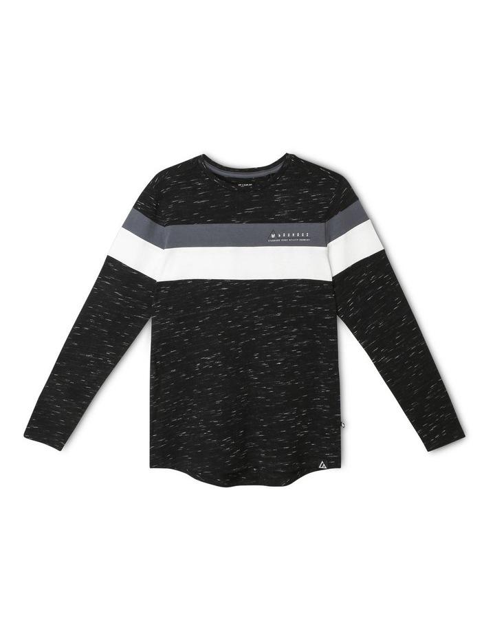 Long-Sleeve Panel T-Shirt image 1