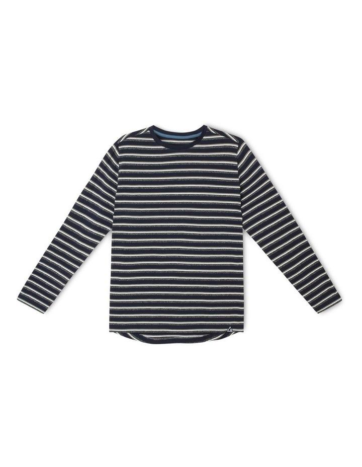Long-Sleeve Stripe T-Shirt image 1