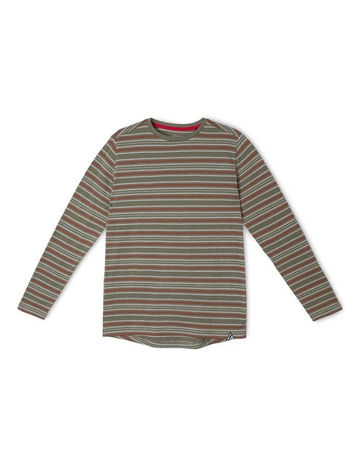 Long-Sleeve Striped T-Shirt image 1