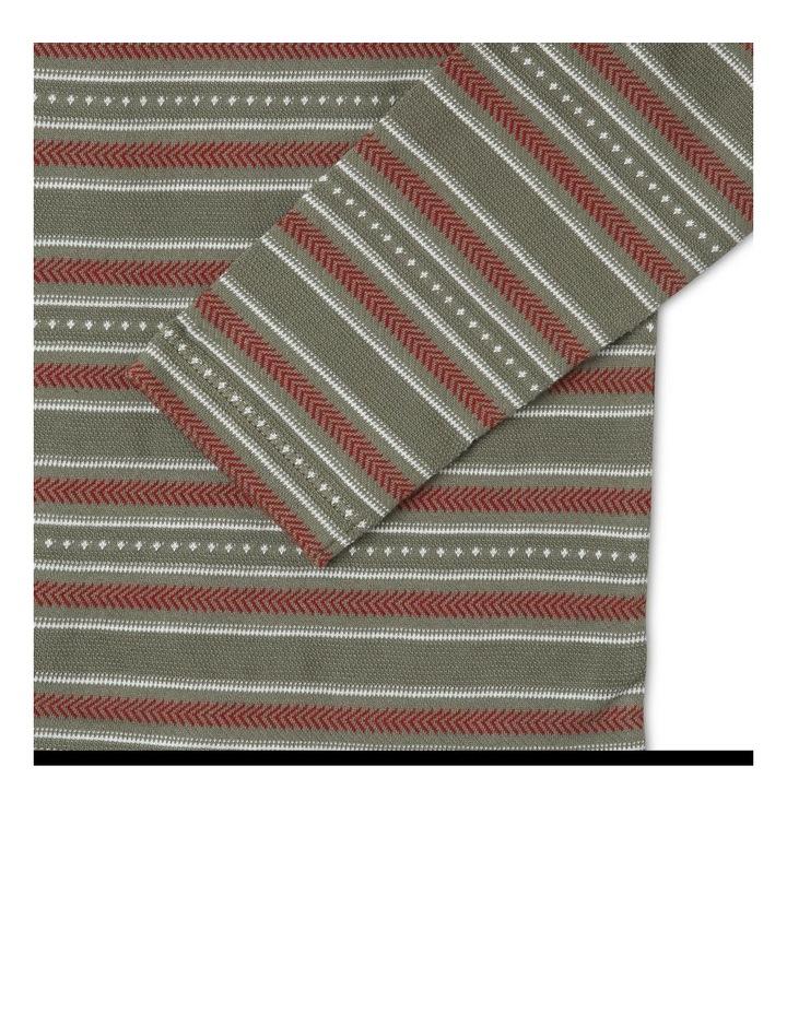 Long-Sleeve Striped T-Shirt image 3