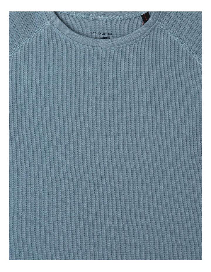 Long-Sleeve Waffle T-Shirt image 2