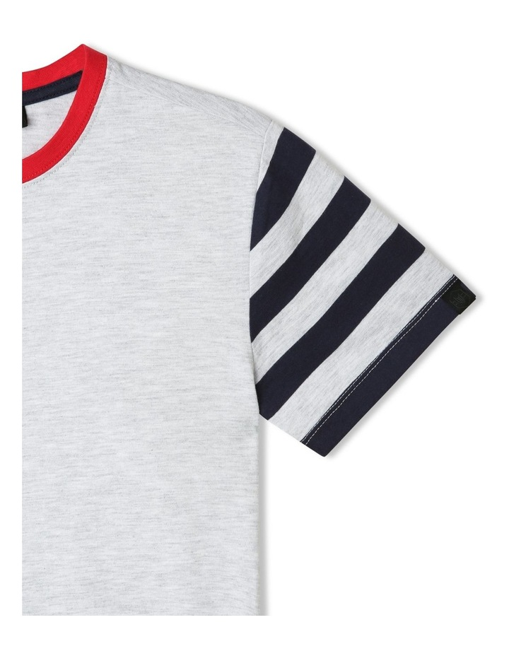Contrast Sleeve T-Shirt image 3