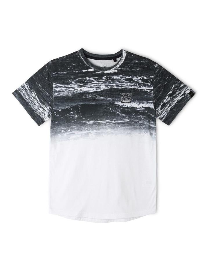Curved Hem T-Shirt image 1