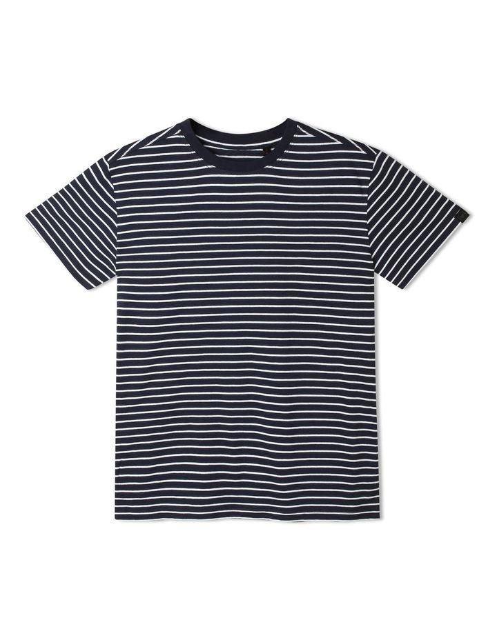 Short-Sleeve Stripe T-Shirt image 1