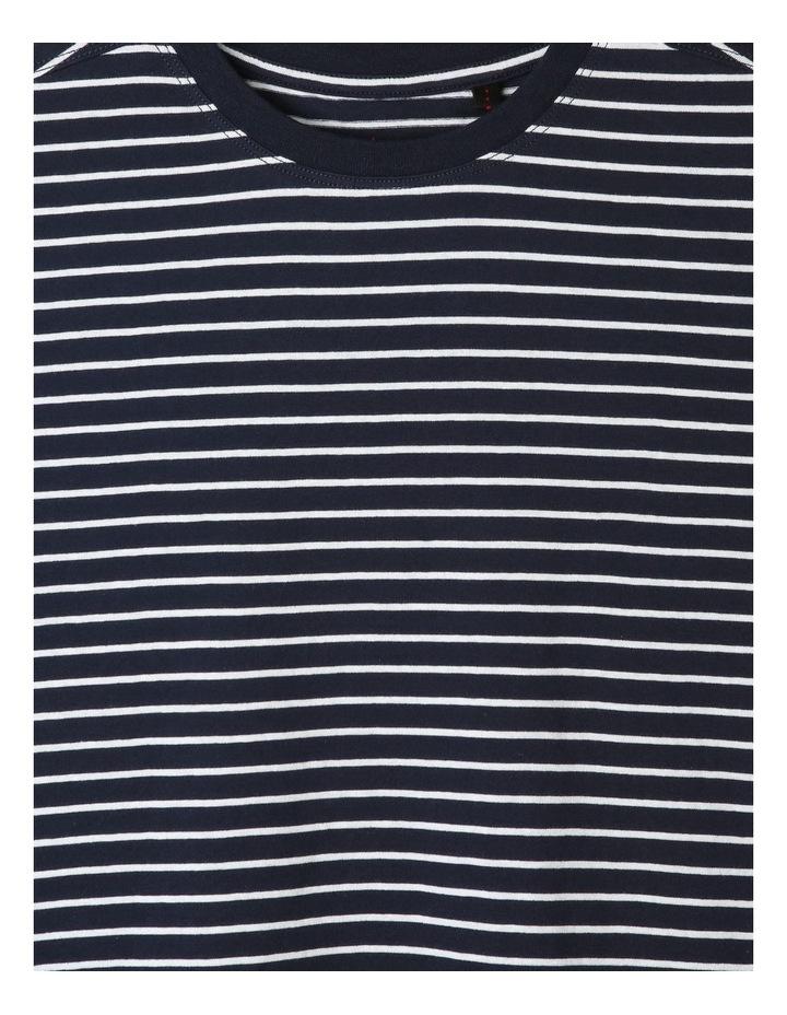 Short-Sleeve Stripe T-Shirt image 2