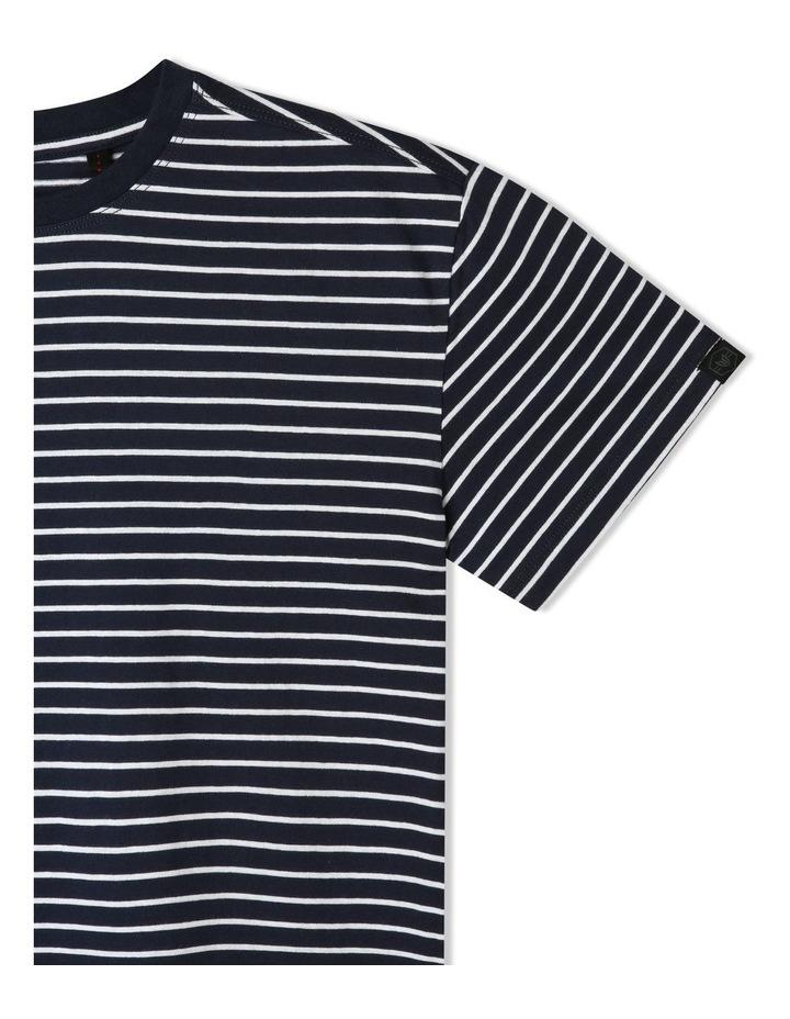 Short-Sleeve Stripe T-Shirt image 3