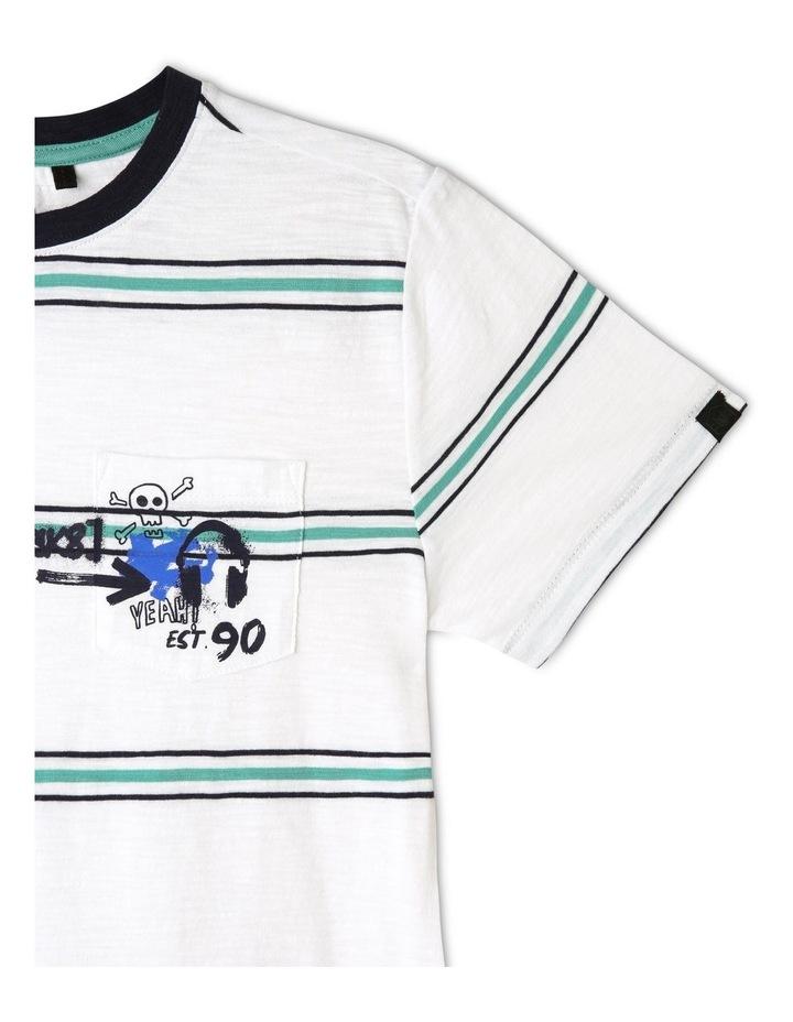 Engineered Stripe T-Shirt image 3