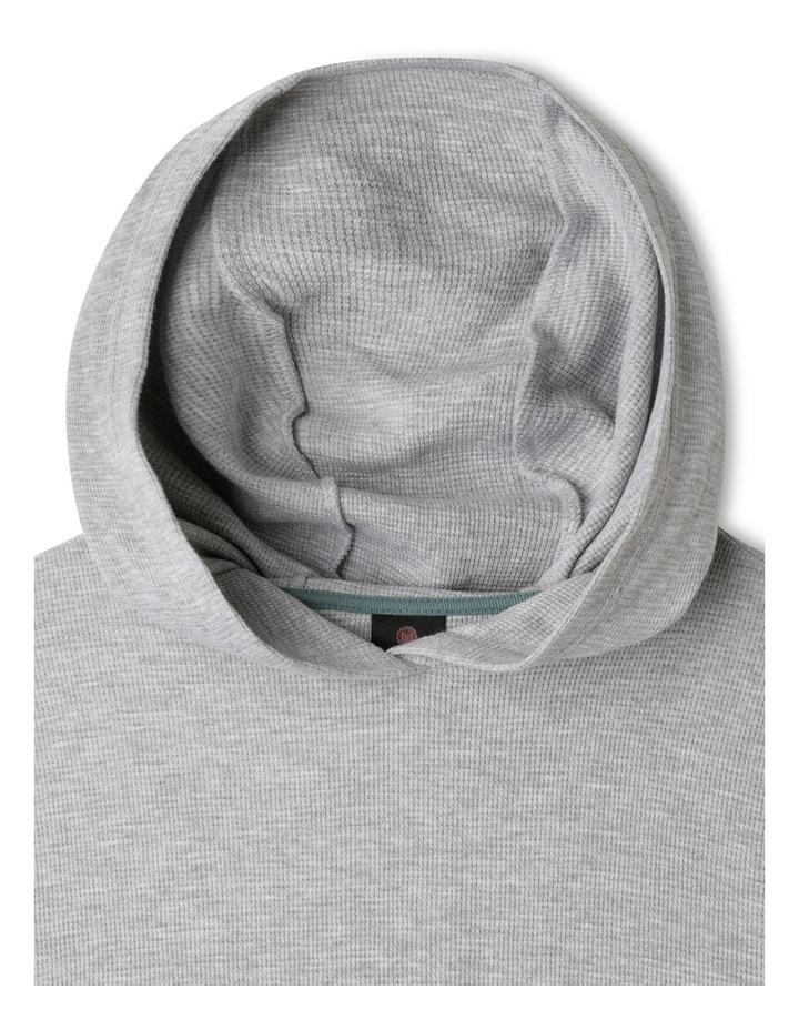 Waffle T-Shirt with Hood image 2