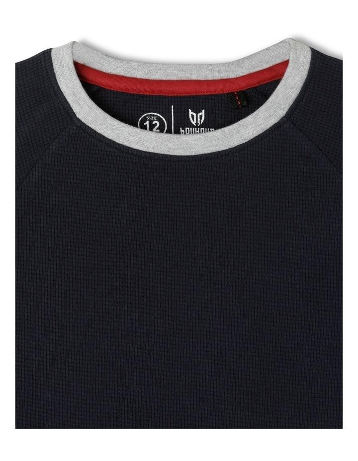 Waffle Raglan T-Shirt image 2