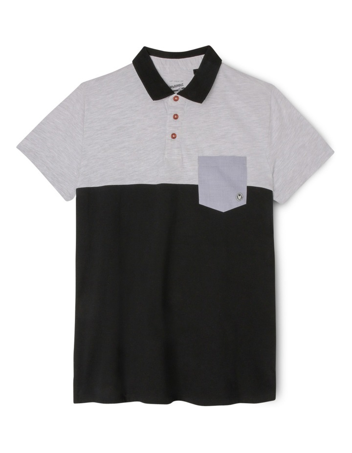 Spliced Polo with Pocket image 1