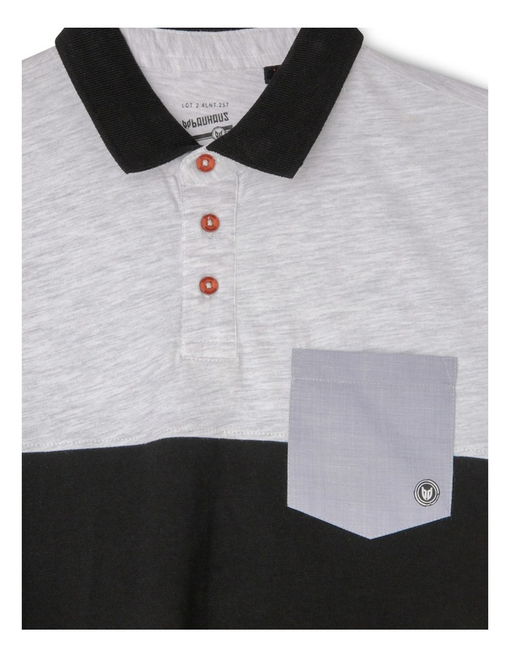 Spliced Polo with Pocket image 2