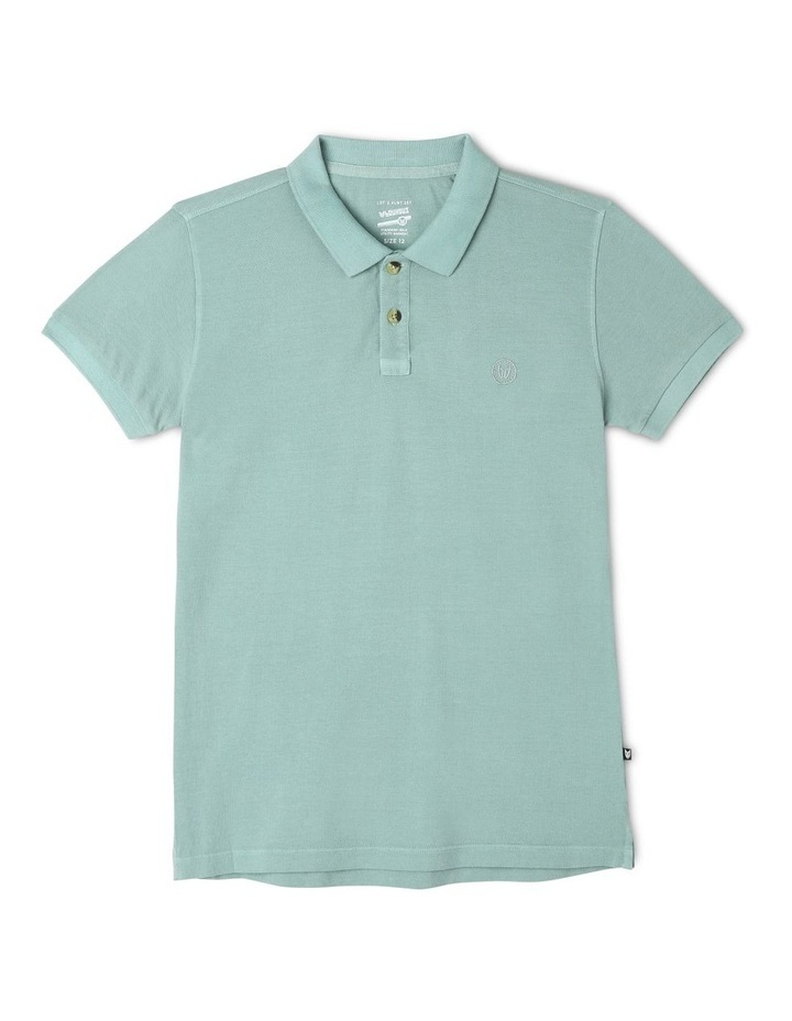 Polo Shirt in Green image 1