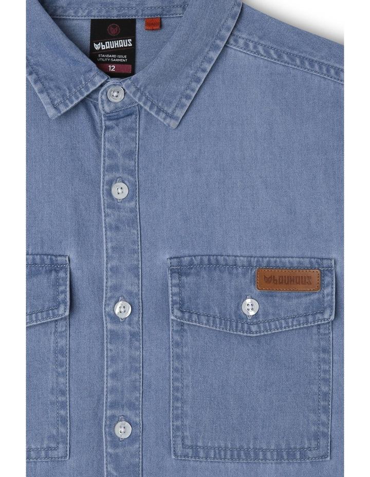 Denim Shirt With Pockets image 2