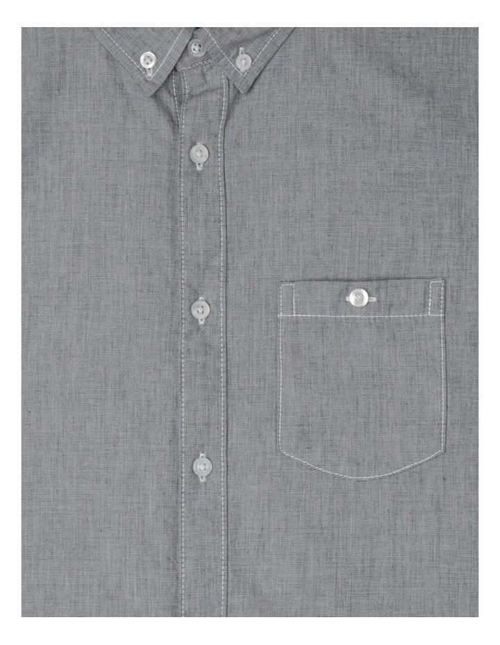 Yarn Dye Roll Up Long Sleeve Shirt image 2