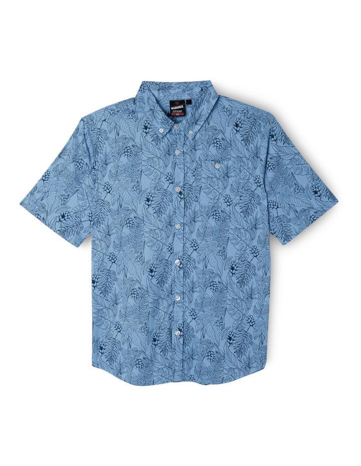 Print Chambray Shirt image 1