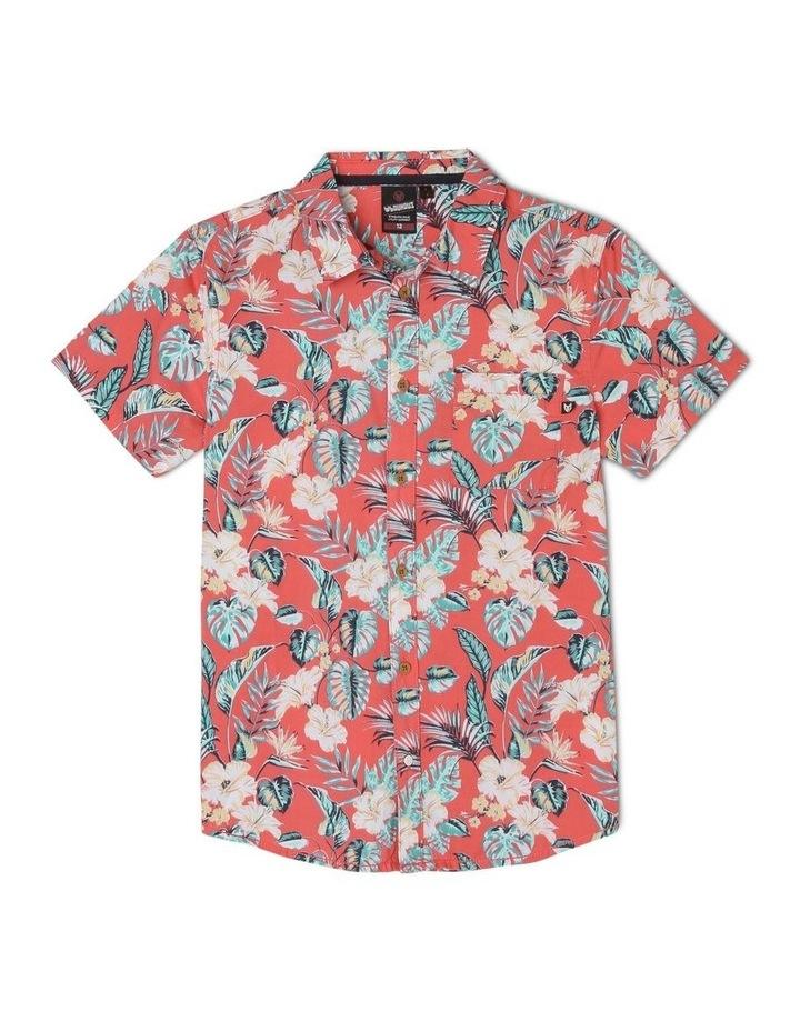 Hibiscus Print Shirt image 1