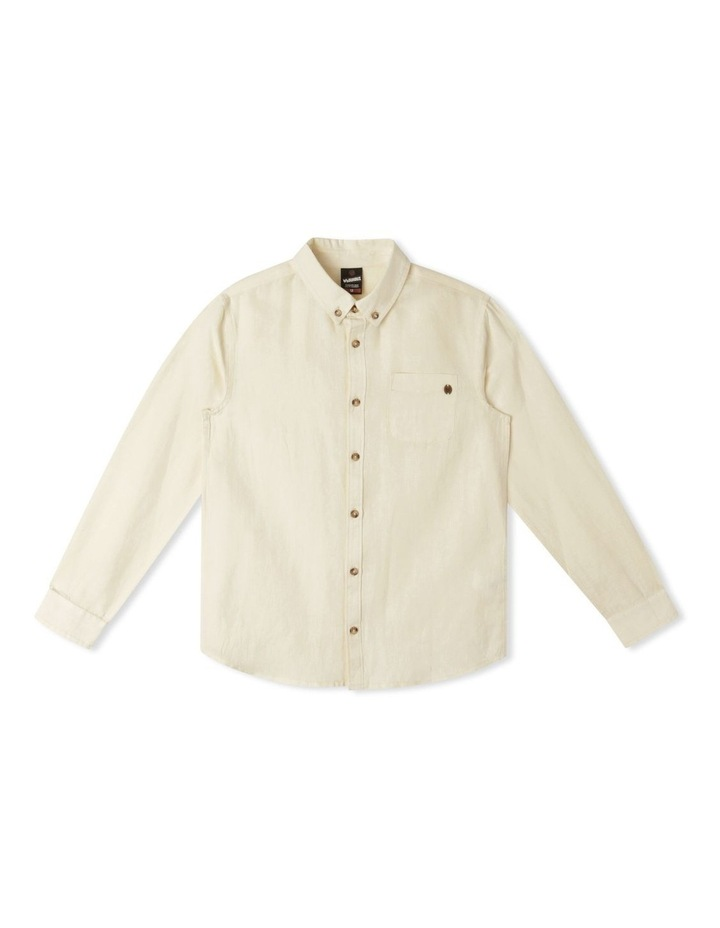 Washed Linen Shirt image 1