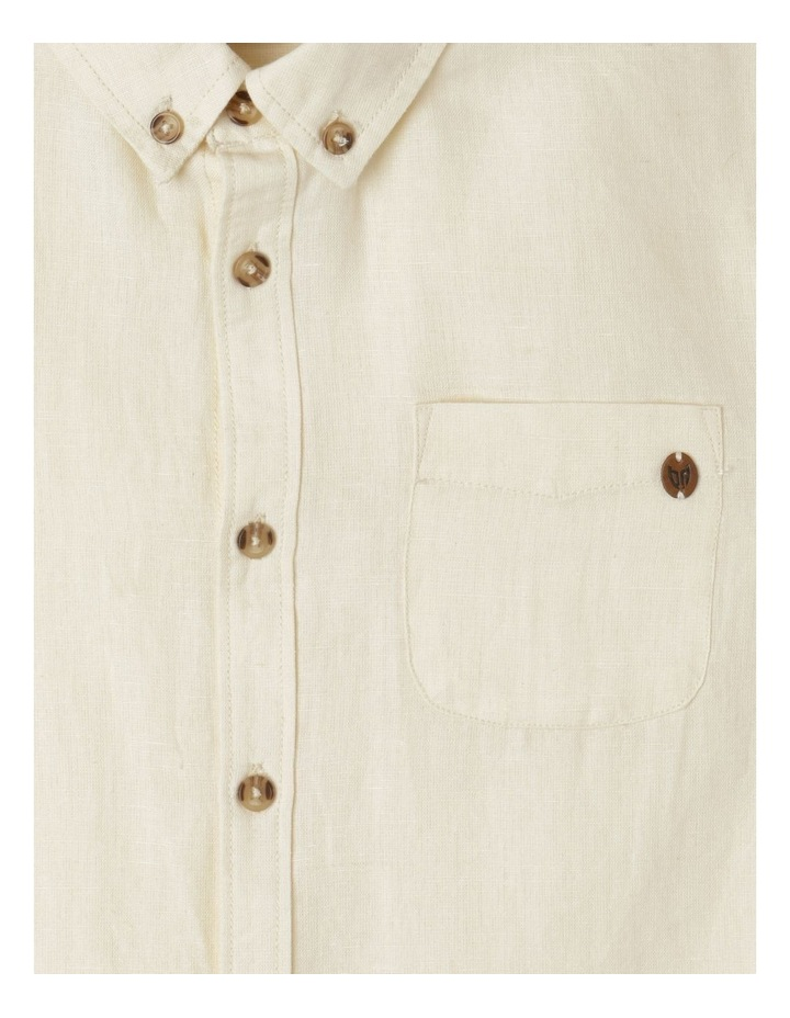 Washed Linen Shirt image 2