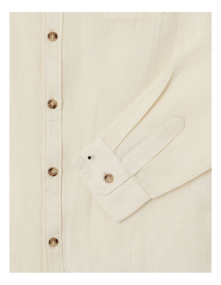 Washed Linen Shirt image 3