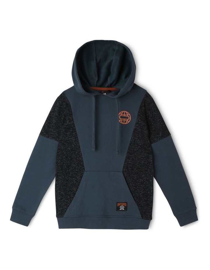 Spliced Hooded Sweater image 1