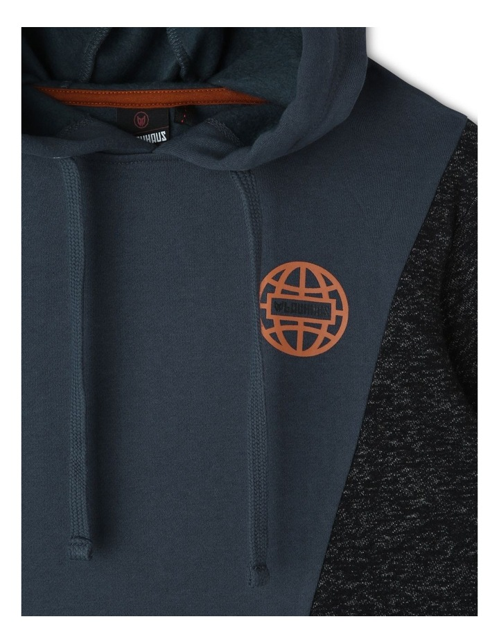 Spliced Hooded Sweater image 2