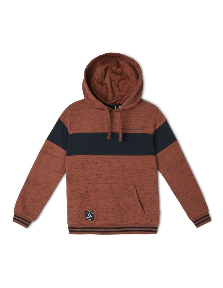 Banded Popover Hoodie image 1