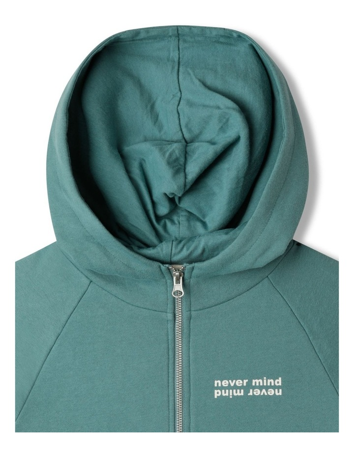 Zip Thru Fleece Sweat Top image 3