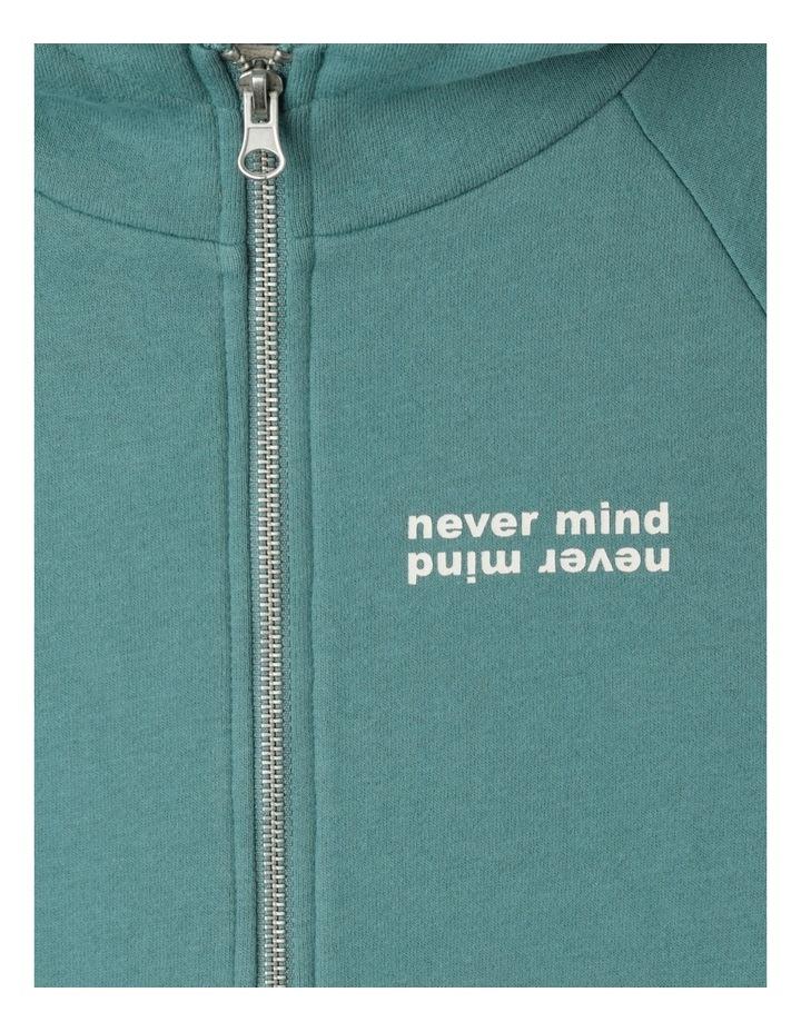 Zip Thru Fleece Sweat Top image 5
