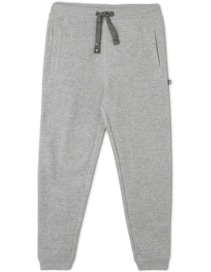 Trackpant Essentials- Grey Marle image 1