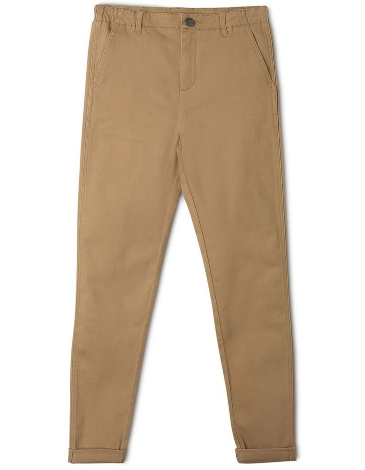 Washed Chino Pant in Oatmeal image 1